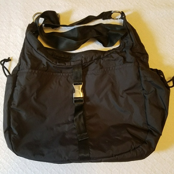 new images of top quality best price Puma nylon large crossbody bag